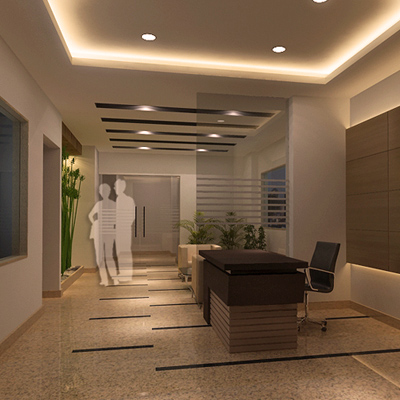 TOWER LOBBY, LANDCRAFT GOLFVIEW APPARTMENTS , Ghaziabad
