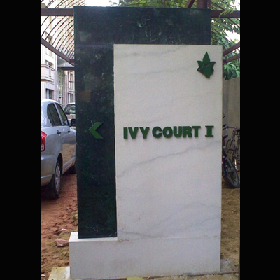 GURGAON ONE - IVY COURT SIGNAGE , Gurgaon, NCR